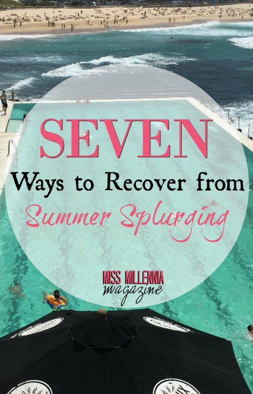 7 Ways to Recover From Summer Splurging