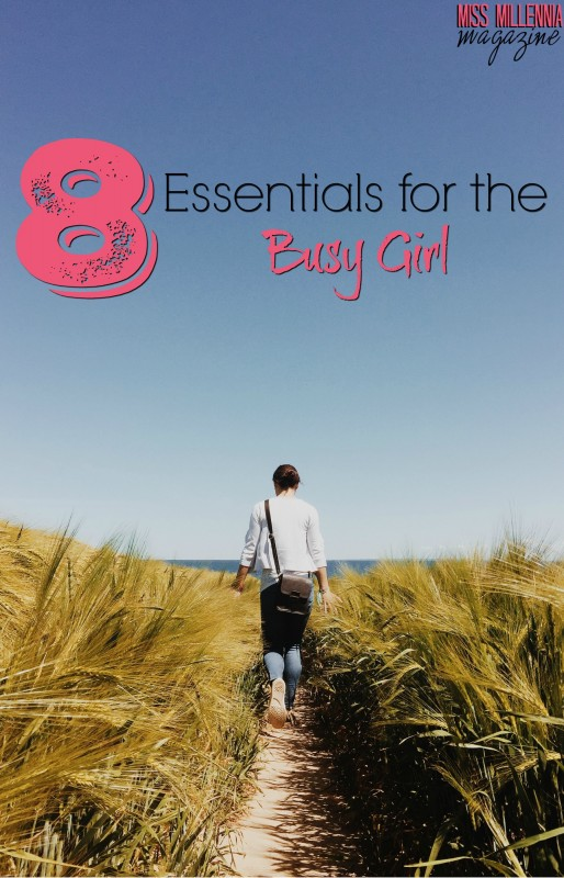 8 Essentials for the Busy Girl_Pin