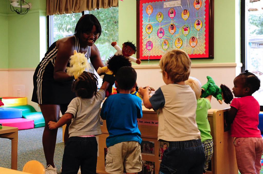 rewarding careers nursery