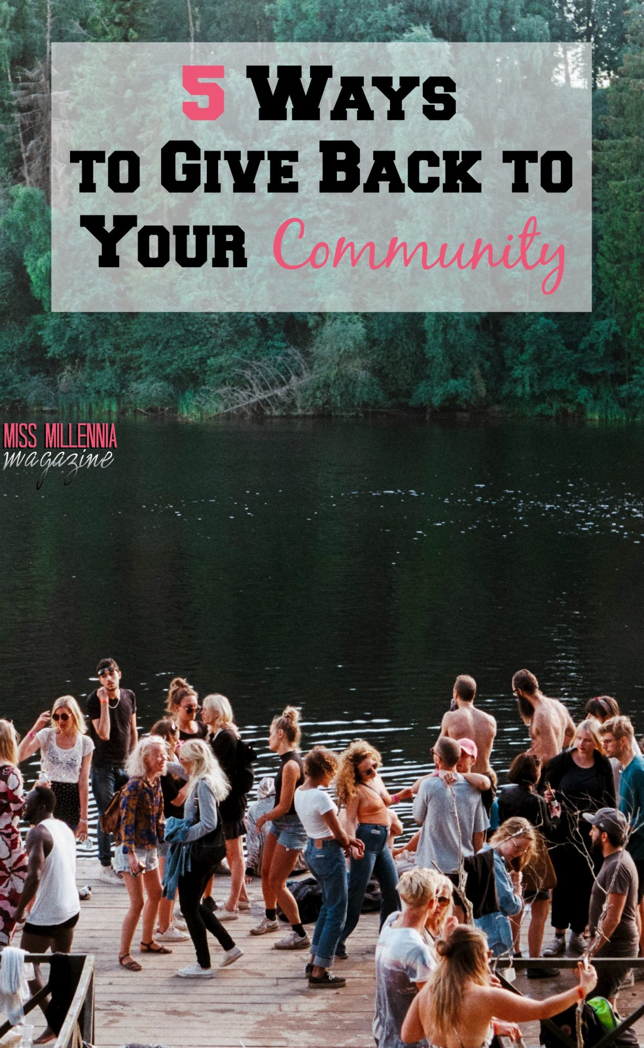 5 Ways to Give Back to Your Community