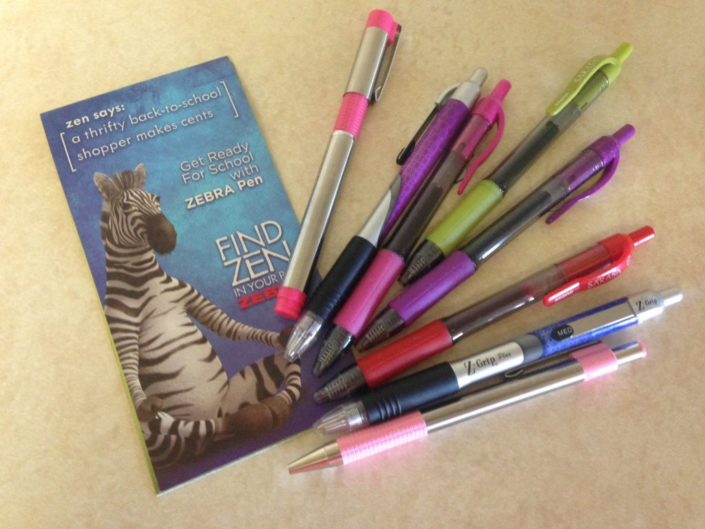 back to school pens