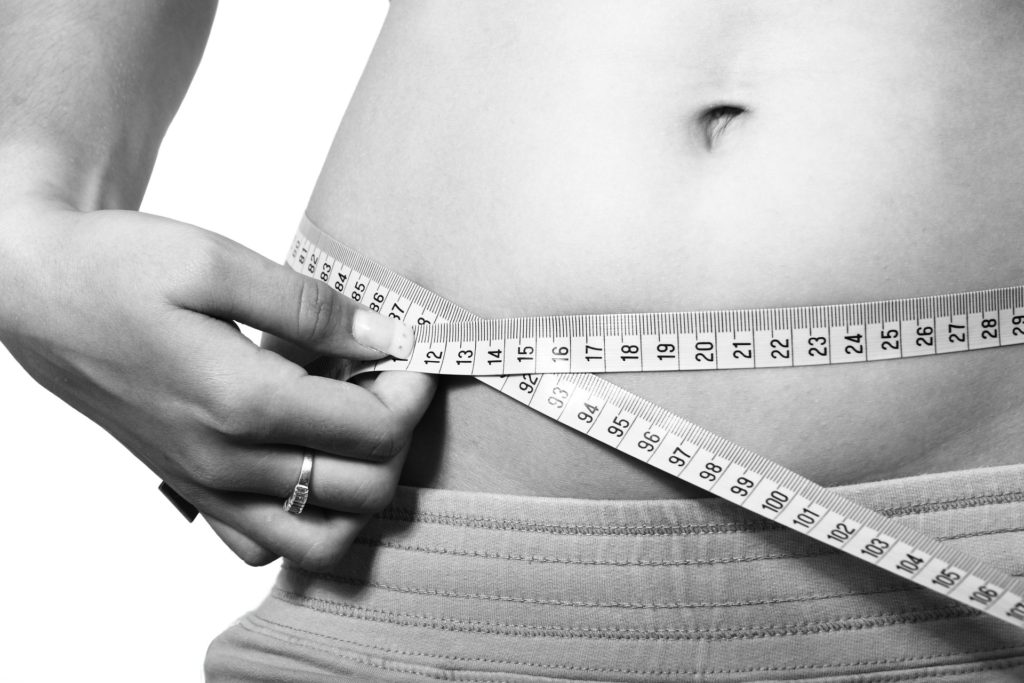 weight loss new bra size