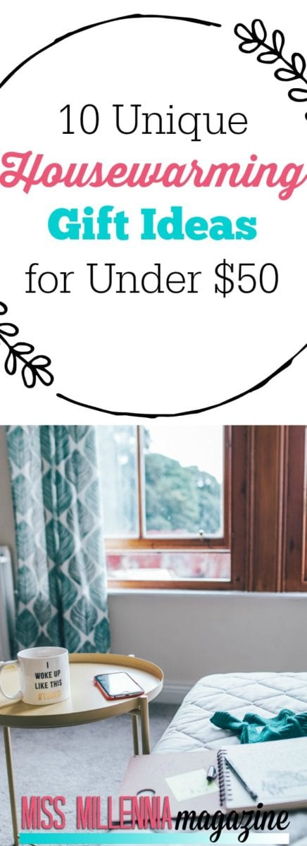 What exactly do you buy for someone who just moved into a new place, that's still within your budget? We've got 10 housewarming gift ideas for under $50!