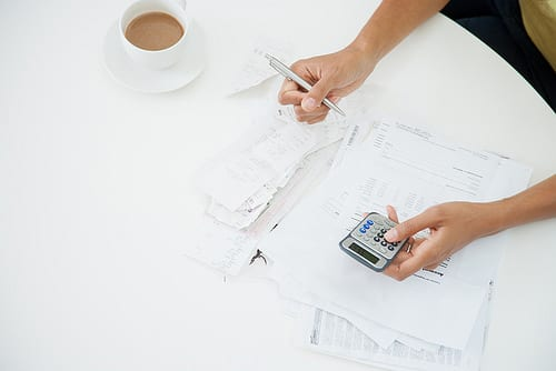 paying bills before settling down