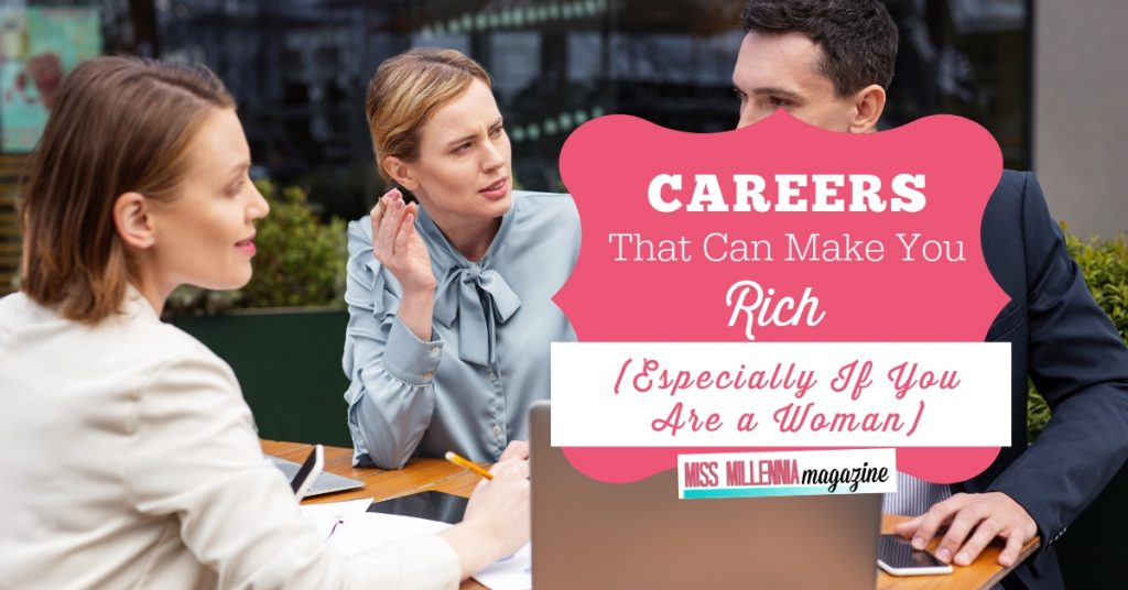 Careers the can make you rich