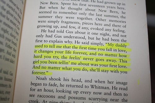summer reads Nicholas Sparks