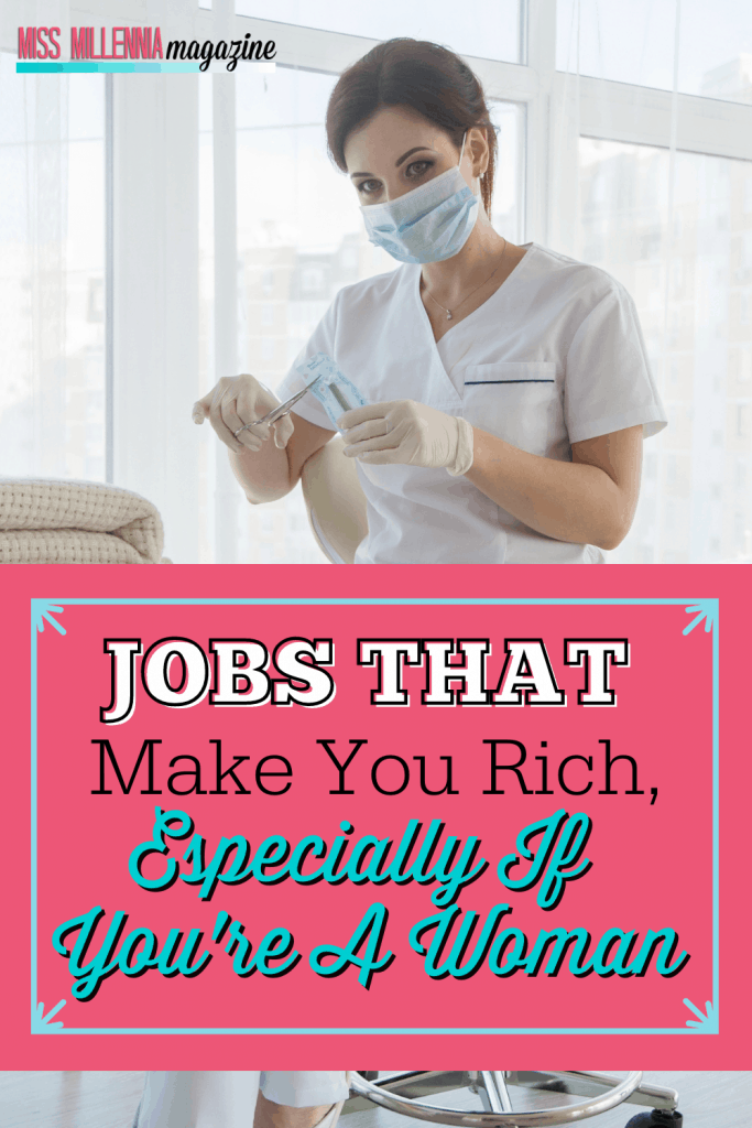 Jobs That Make You Rich, Especially If You're A Woman