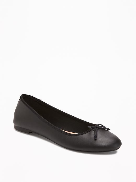 timeless pieces 7.A Pair of Black Flats