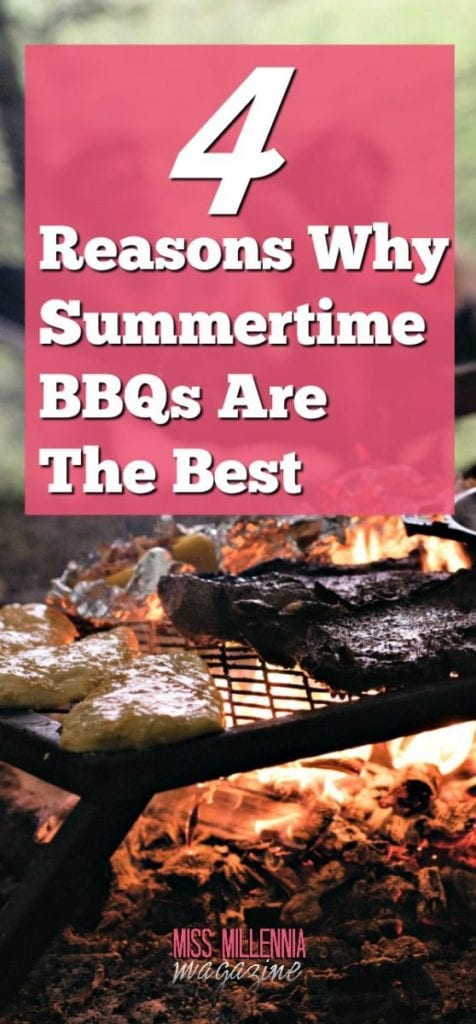 There are so many reasons why I think Summertime BBQs are so much better than other social gatherings, and I will count the ways. #ad