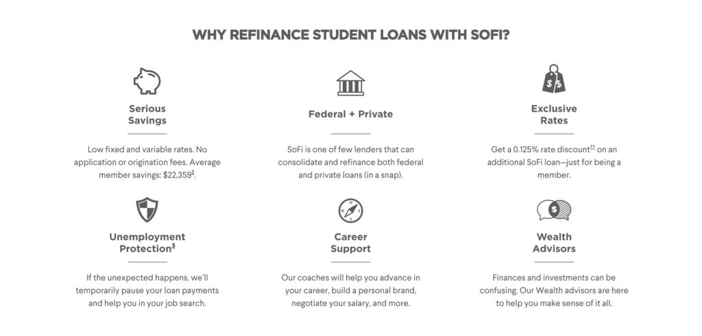 refinance a student loan with Sofi