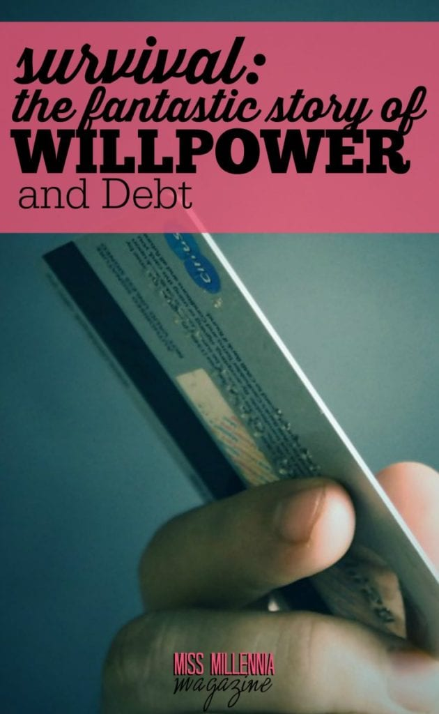 So, how do women manage their daily lives and wade out of their debt holes? Here is a fantastic survival story of willpower and debt.