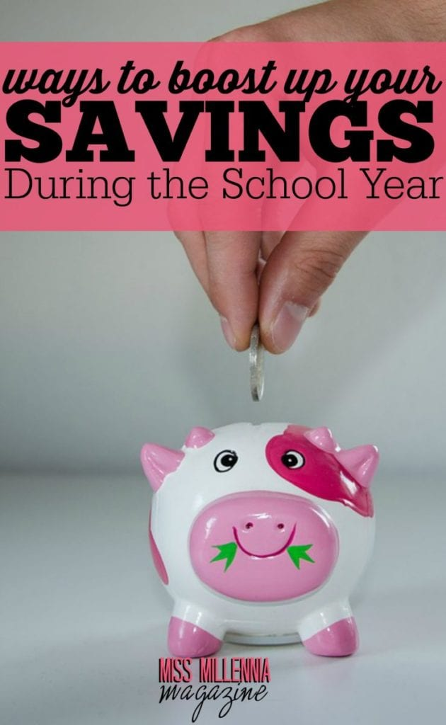 Let's face it, saving money while attending school is hard! During your college years, it is necessary to be creative to boost up your savings.