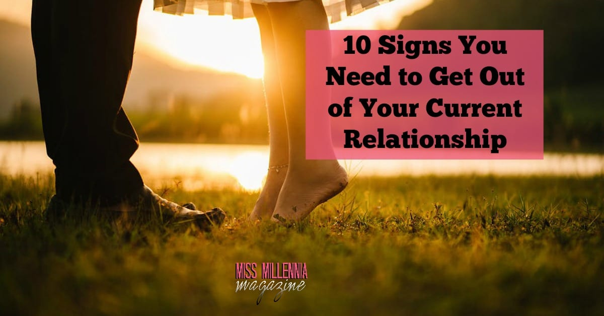 10 signs show your relationship over