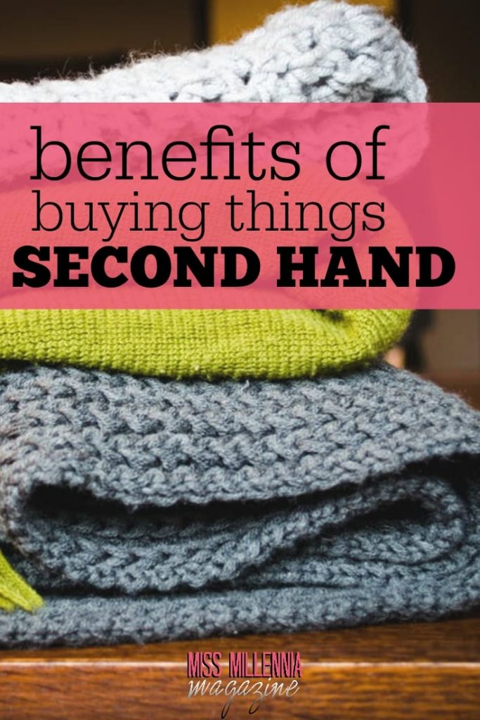 Part of the charm of second-hand items is their history. But there are so many benefits to shopping second hand, which you might not have considered before.