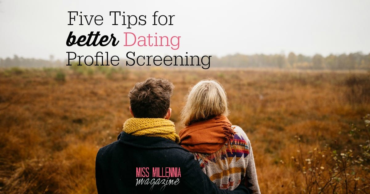 Tips dating profilSan Antonio dating rubrikkannonser