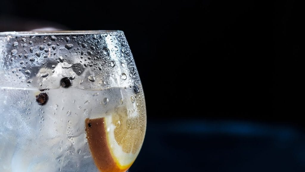 burn calories with ice cold water