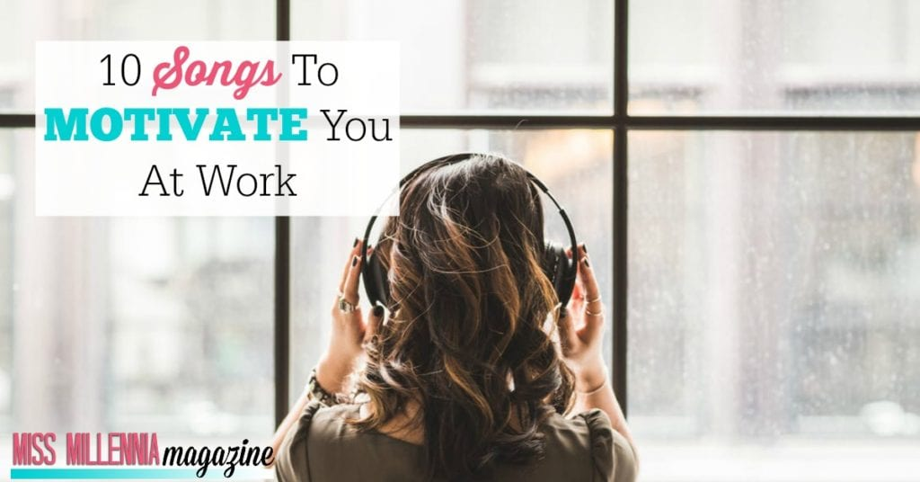 10 songs that can motivate you at work fb image