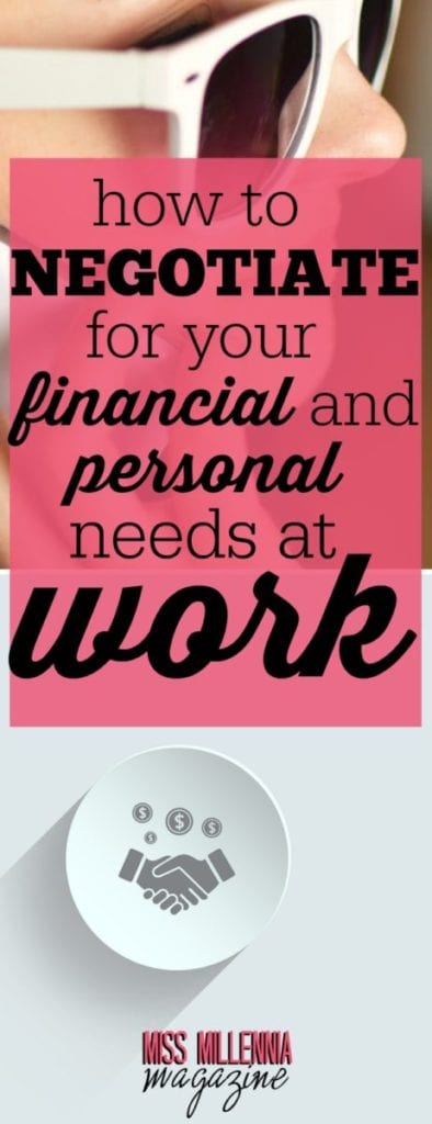 To negotiate can be overwhelming! Here are steps you can follow to get the financial and personal needs at work that you're looking for.