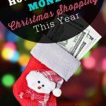 Make Extra Money Christmas Shopping