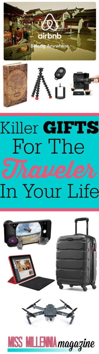 So what do you give a person that is always on the move? Here is a list of gifts you can give this holiday season to the traveler in your life.