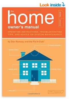 a manual for new Homeowners