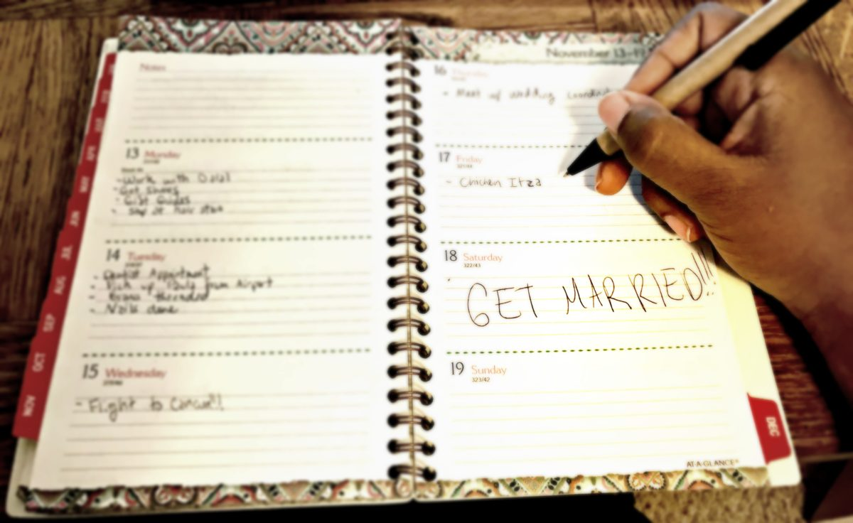 at-a-glance planner : reflect on my goals
