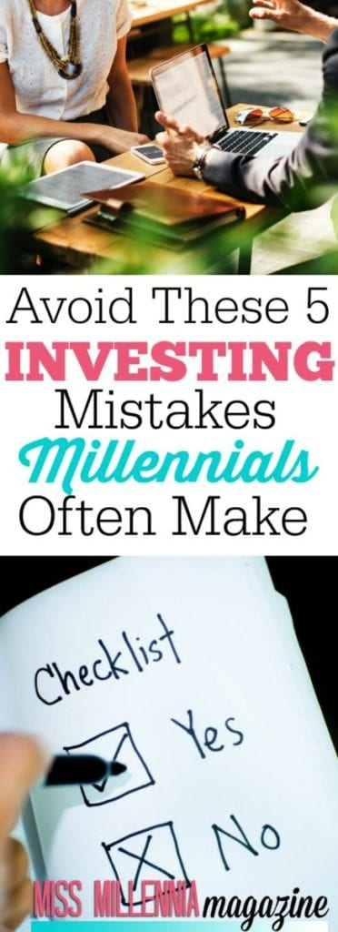 We might struggle in the present, but we dream of enjoying a more comfortable tomorrow. Here are some of the investing mistakes that most of us are making.