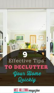 Tips to Declutter Home