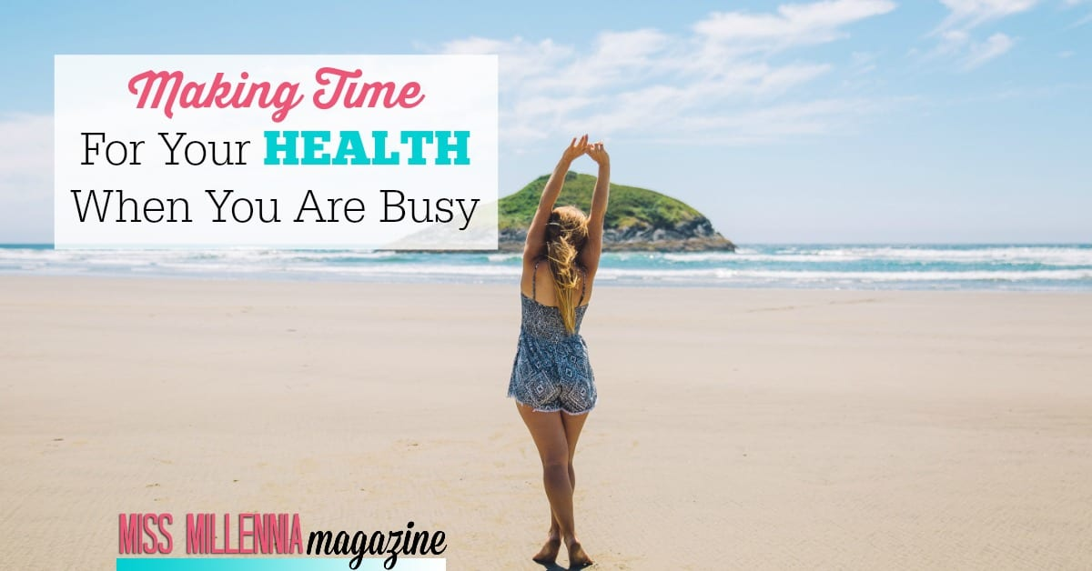 Being busy is no excuse not to take care of your health! And with this Promo code you can get 50% off a $69 urgent care visit with promo code Amwell50 https://missmillmag.com/making-time-health-busy/ #ad #getwellwithamwell