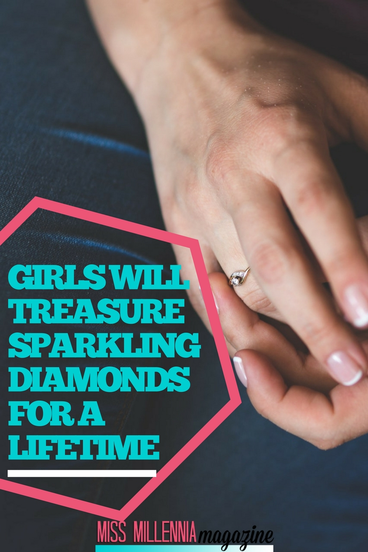 It's been said that sparkling diamonds are a girl's best friend, and that's as true today as it was when the phrase was first coined. How we should go about buying them has changed though.