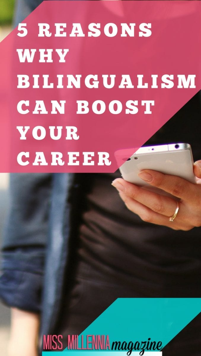 With fewer people studying foreign languages, the skills gap in the jobs market is only becoming more significant. That gap is where you can step in. Here are five reasons why there's never been a better time for bilingualism.