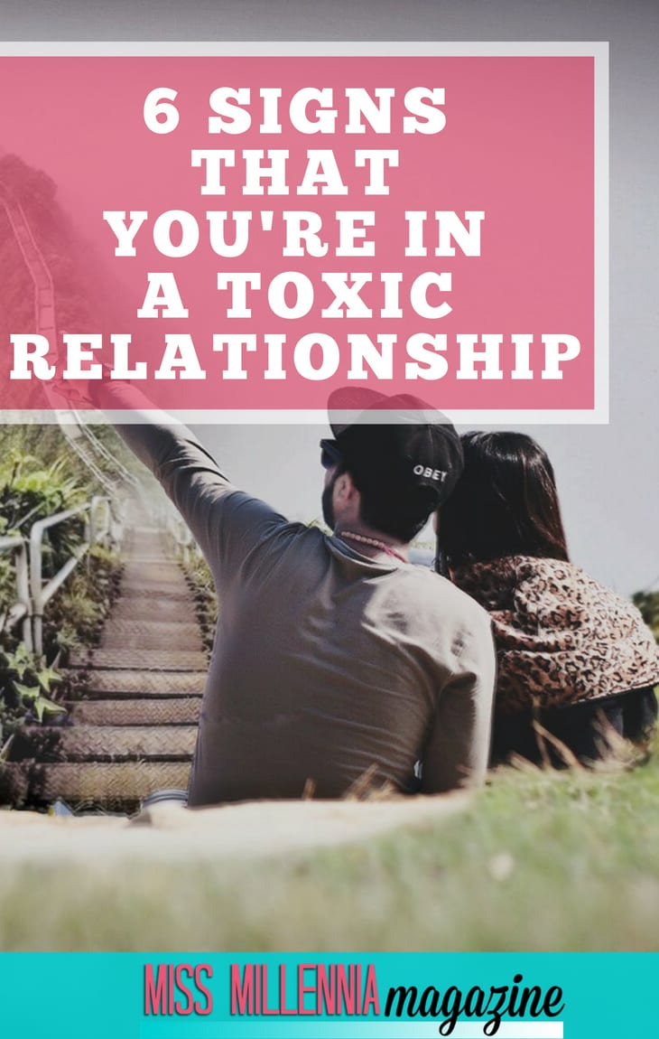 If your relationship feels more like a burden rather than a meaningful connection, don't be afraid to take a step back and question if you are with the right person. These are six signs that indicate you're in a toxic relationship.