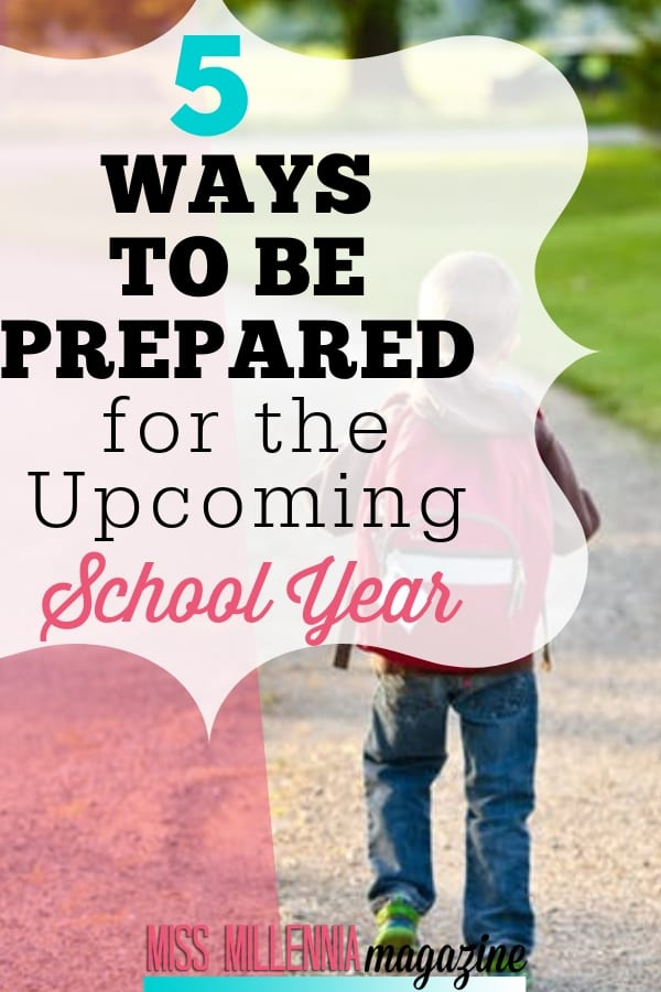 Don't stress, because there are a few ways to make things a little easier on yourself before the upcoming school year rolls around again.