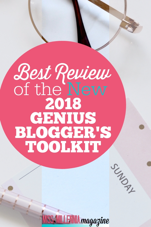 Are you interested in buying the new 2018 Genius Blogger's Toolkit? Well, maybe you should read this review of it before you decide. #bloggers #blogging