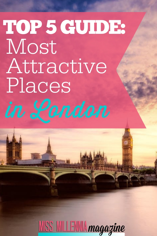 We've found 5 of the most beautiful places to see in London. Use this guide to navigate your way around the loveliest corners of the city.