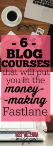 Blog Courses that Makes Money