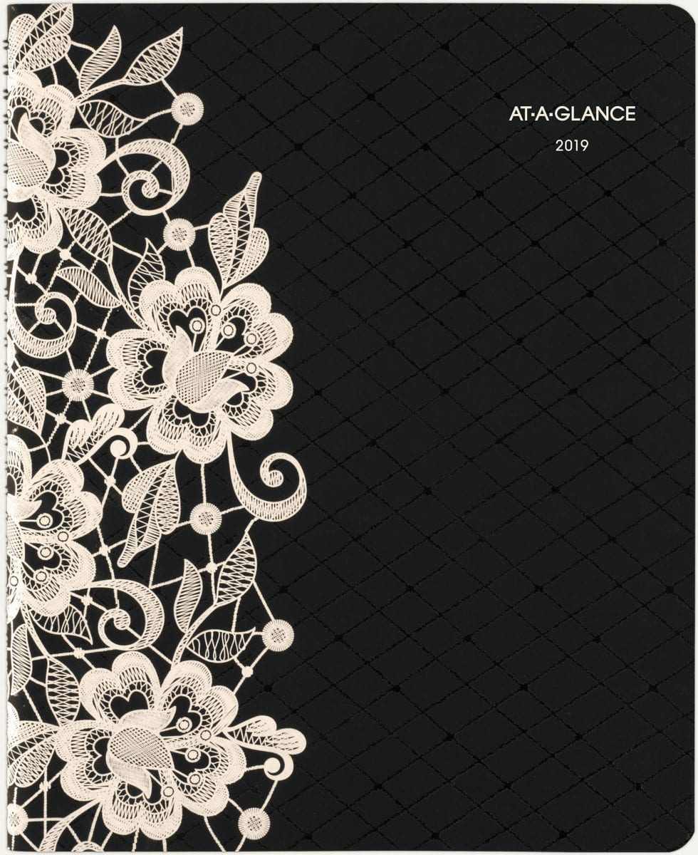 AT-A-GLANCE Lacey Premium Weekly-Monthly Appointment Book : gift ideas for entrepreneurs