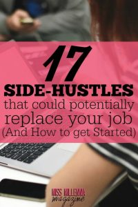 17 Side-Hustles that Replace your Job