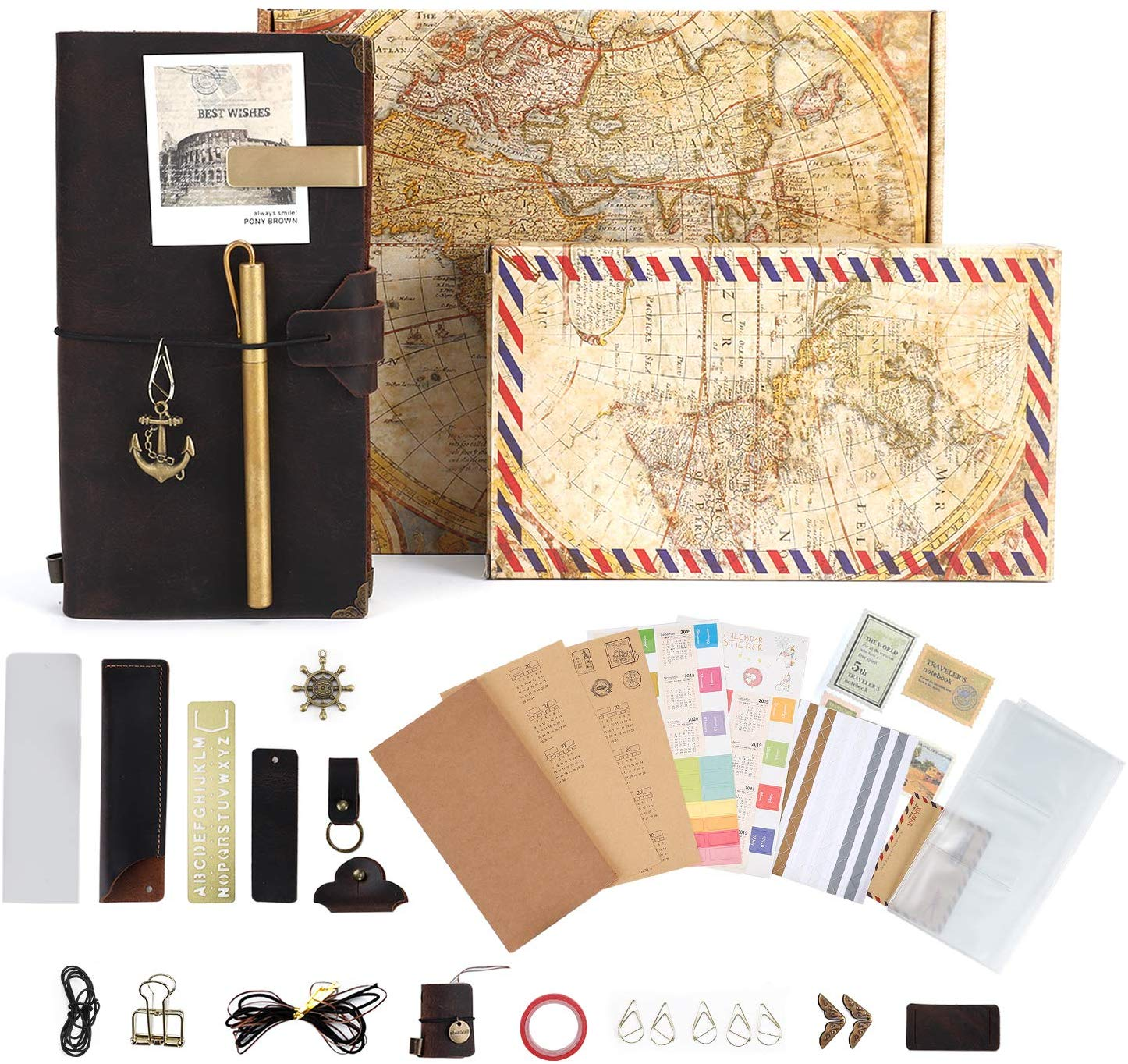 a travel notebook kit great gift ideas for travelers