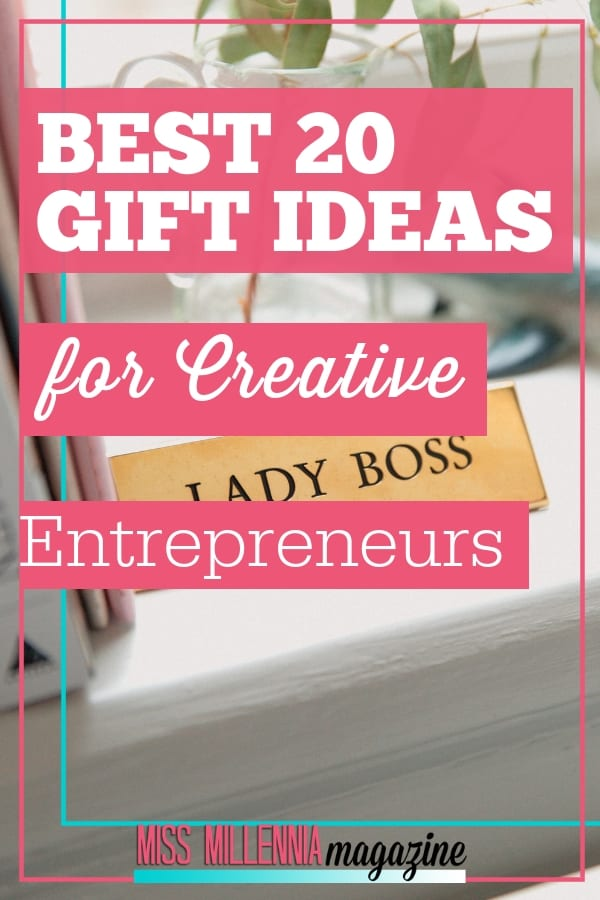 Finding gifts for the creative entrepreneur can be a daunting task. Especially if you are not in that world where you too are an entrepreneur. For creative entrepreneurs, their business is such a big part of their lives that they'd happily accept a gift that would help them grow as a person or in their business. If you are looking for a gift idea for a business owner, you have come to the right place. Check out the list for ideas. #giftideas
