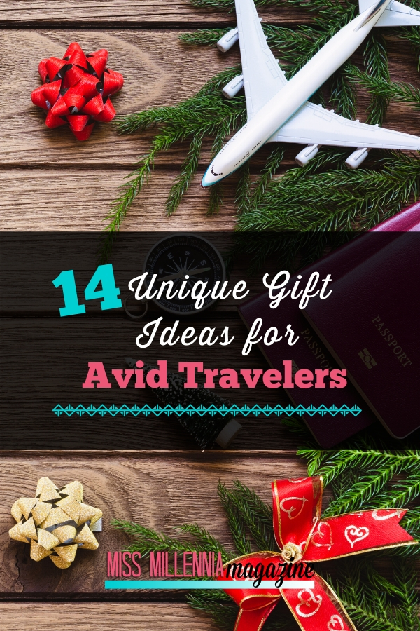 14 Unique Gift Ideas for Avid Travelers-If you know a frequent traveler, you know that there are some things they value more than others. Check out my list of the best gift ideas for travelers