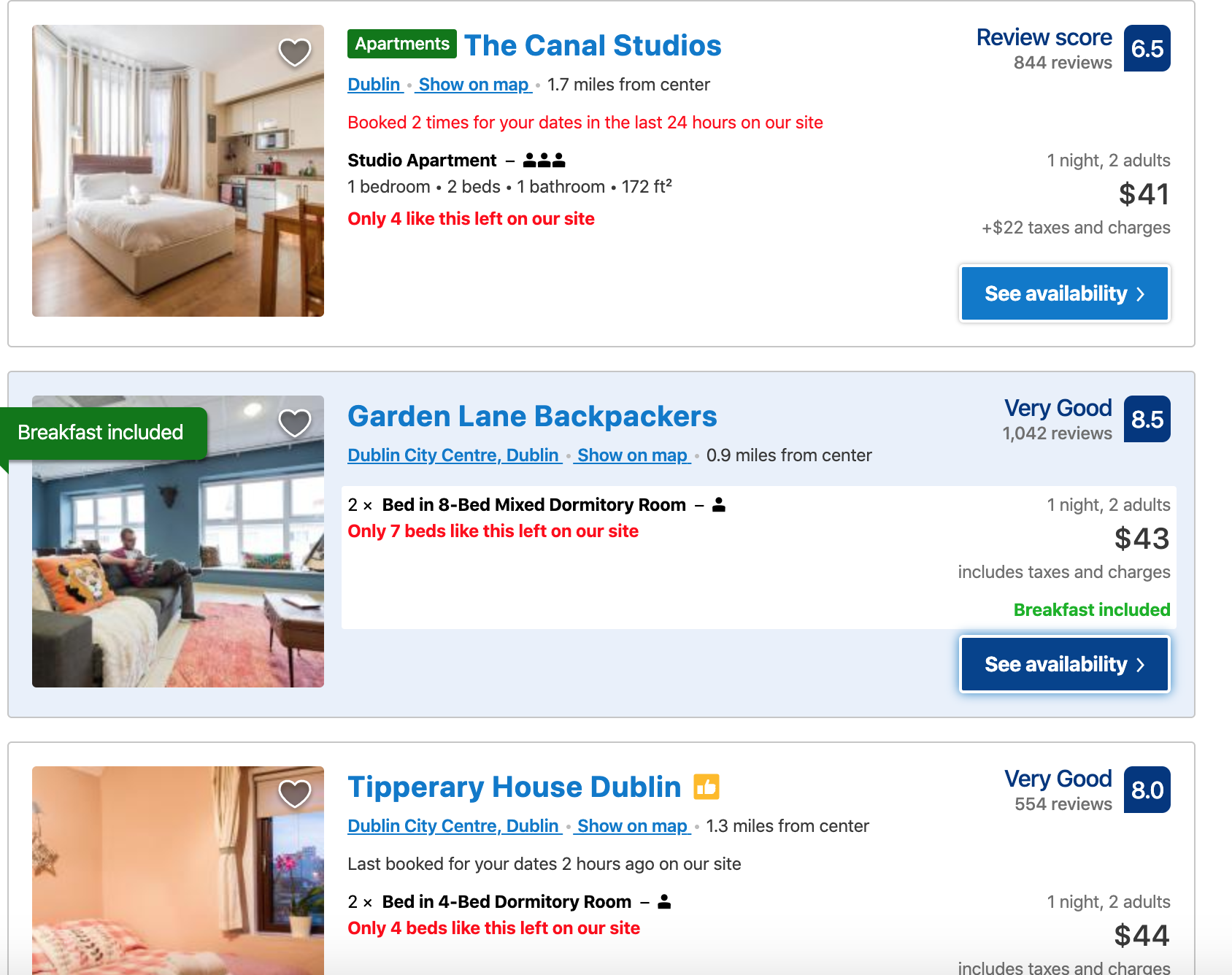 affordable hotel options on Momondo