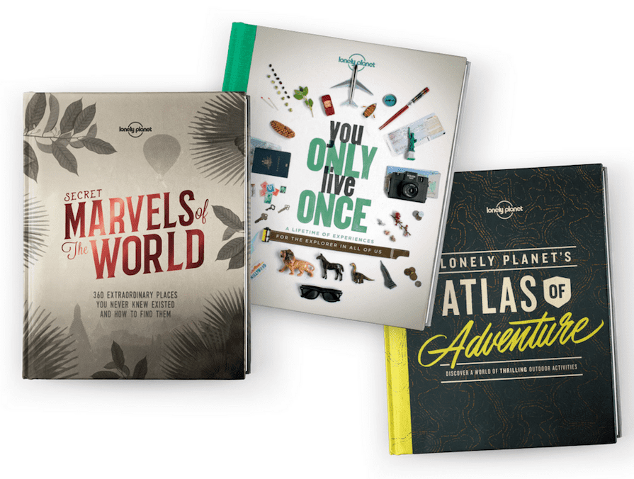 Lonely Planet Travelers Books amazing gift ideas for travelers