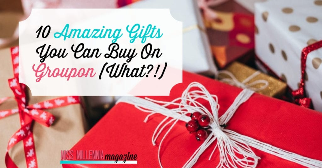10 Amazing Gifts You Can Buy On Groupon fb