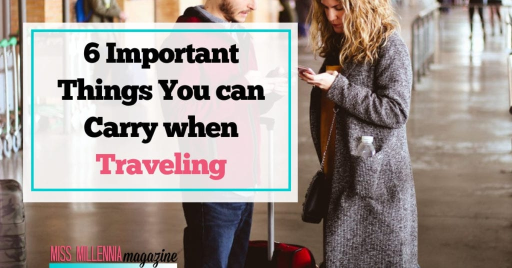 6 Important Things You can Carry when Traveling fb