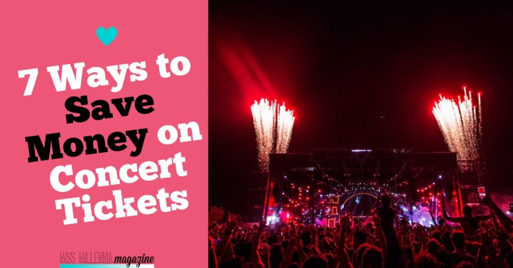 7 Ways to Save Money on Concert Tickets fb