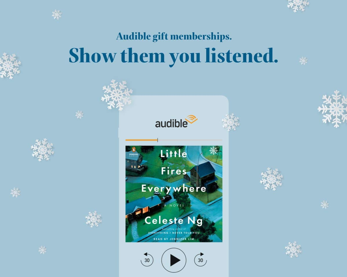 Audible Subscription gift ideas for entrepreneurs