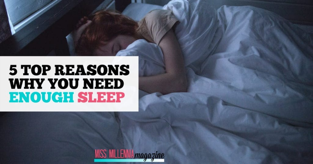 5 Top Reasons Why You Need Enough Sleep fb