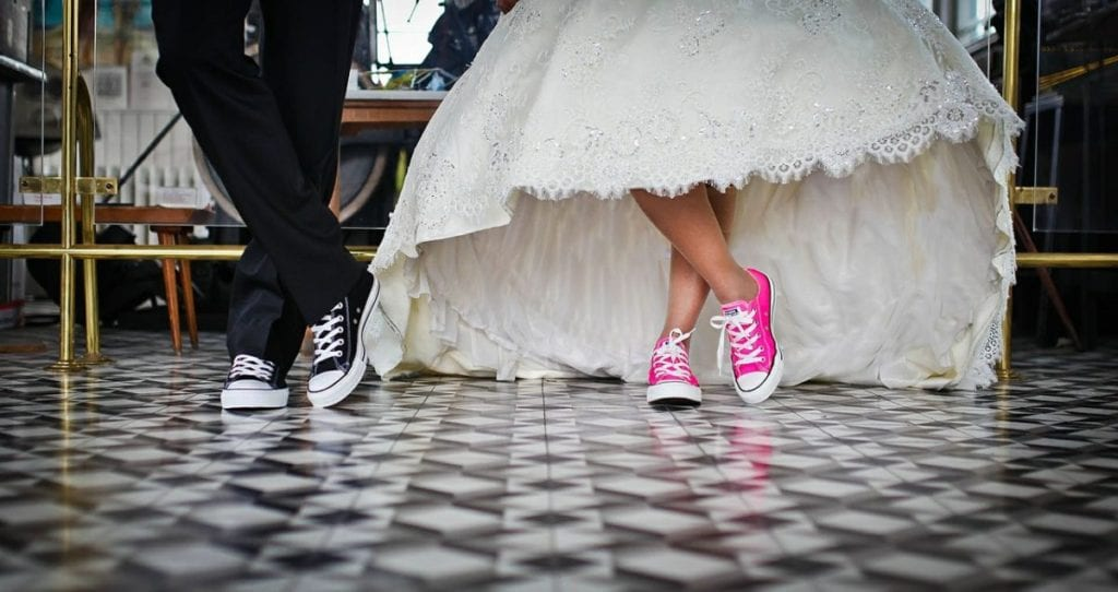 getting married in converse will make your wedding unique