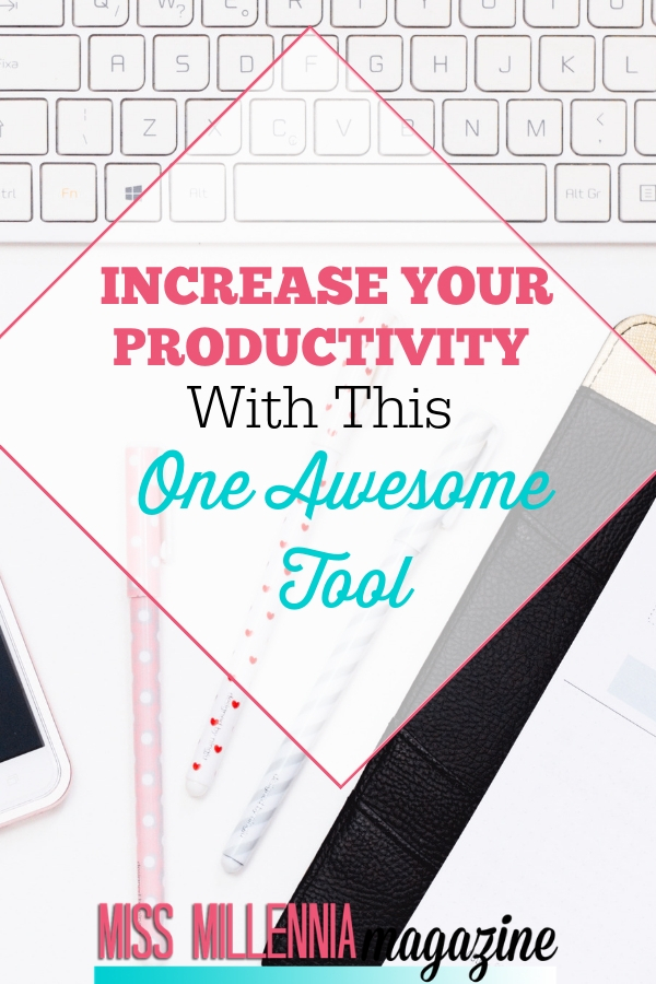 Increase Your Productivity With This One Awesome Tools